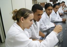 Aula Prática do Curso Técnico em Química