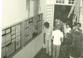 Hall de Entrada na década de 80