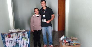 Fabiana (enfermeira responsável) e Gabriel (Procotil)